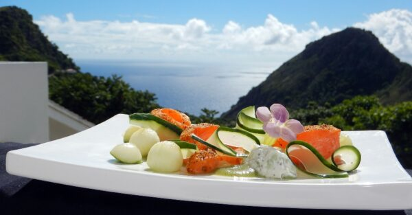 Saba island Restaurants and Bars Caribbean Netherlands Antilles