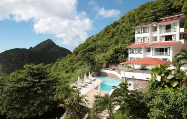 Saba Island Hotels find lodging in the Caribbean Netherland Antilles