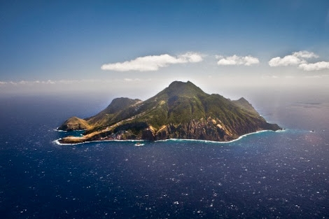 Saba Island in the Caribbean Netherlands Antilles