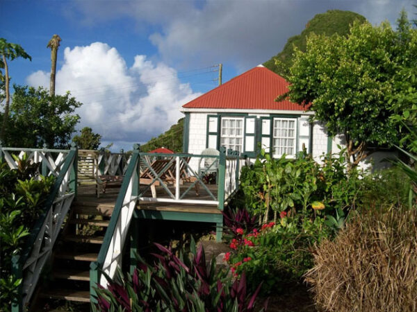 Windwardside Saba Island Dutch Caribbean